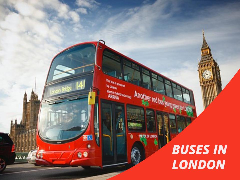Buses in London public transportation
