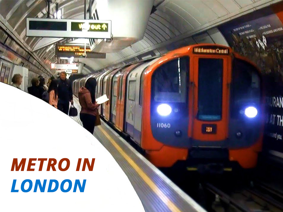 Metro in London public transportation